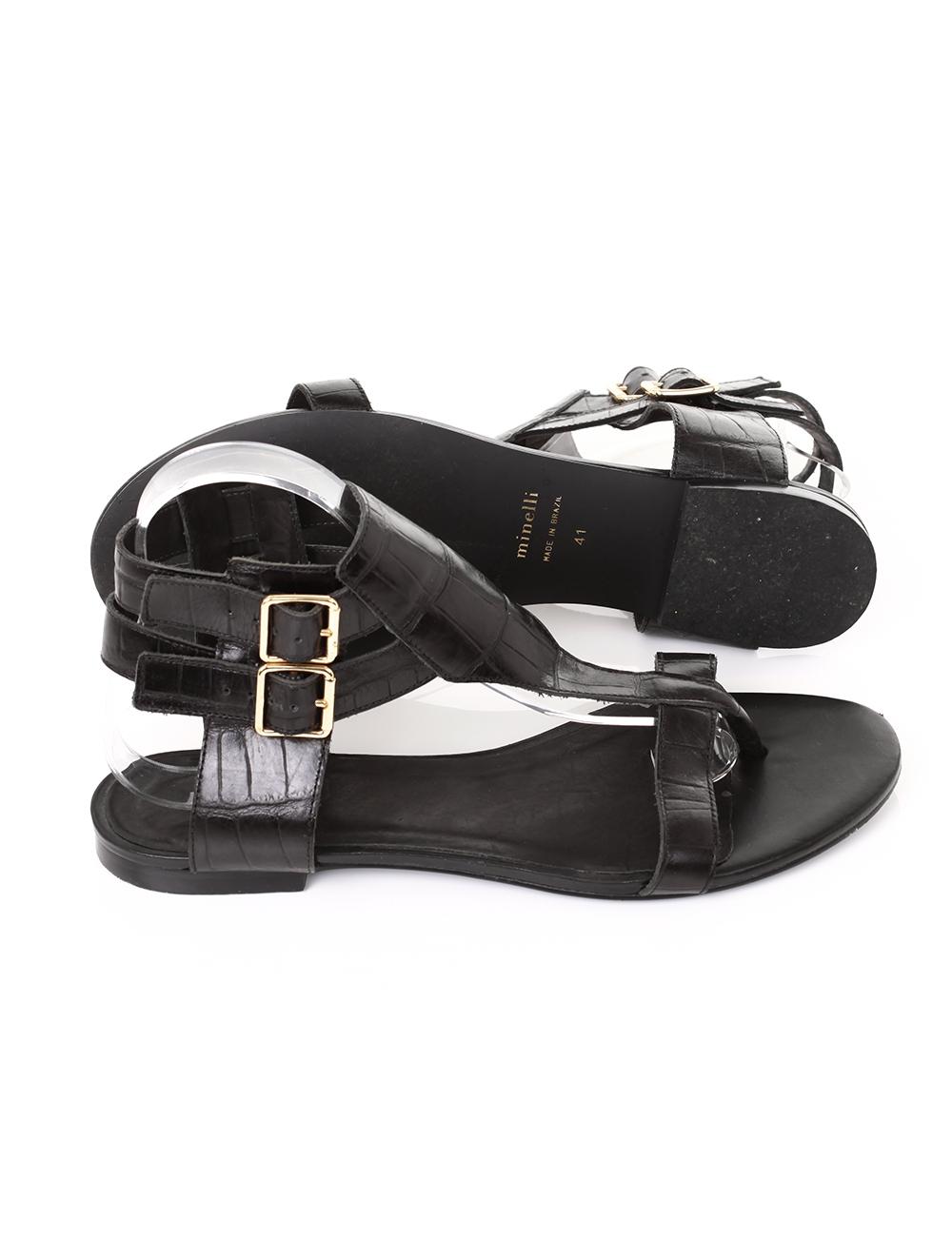 b791436c4f6 Chaussures MINELLI noir en cuir