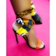 CHAUSSURE SWEET SECRET FOULARD TALON P.38